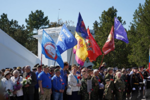 Торжественное перезахоронение погибших в годы Великой Отечественной войны - 2