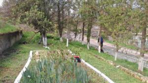Реставрация памятника погибшим воинам-черноморцам в селе Айвовое 2