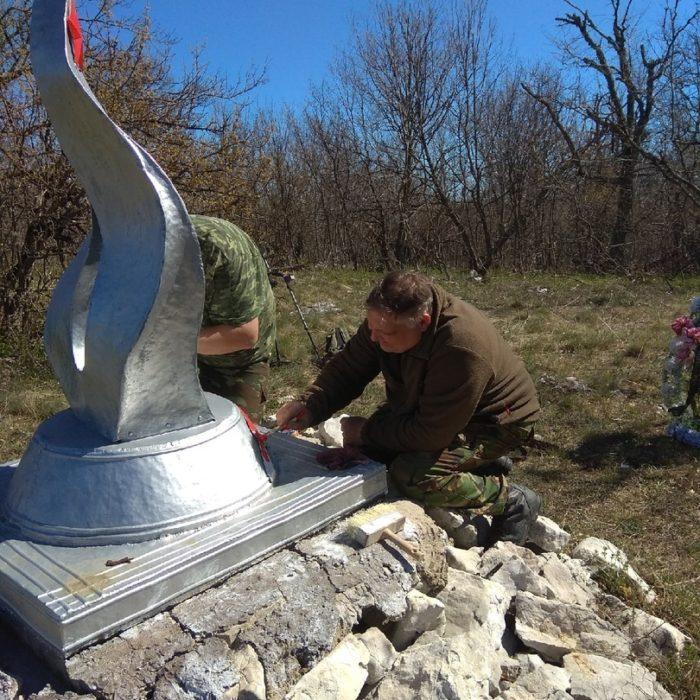 """Поисковики ВПО """"Вымпел"""" нашли останки партизана"""