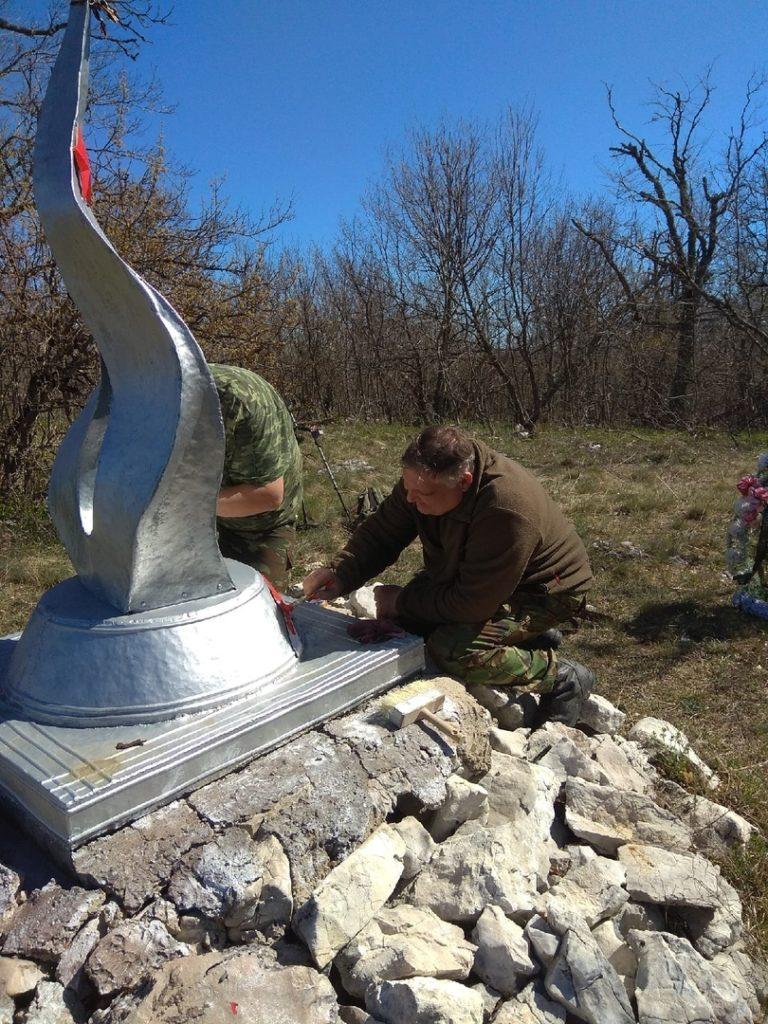 Поисковики ВПО «Вымпел» нашли останки партизана